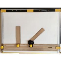 Set di squadre per tecnigrafo portatile Tecnostyl