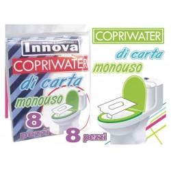Copriwater Carta Monouso Set 8 pz.