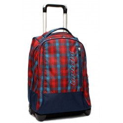 Trolley Zaino Invicta Tindy Check Brick Fantasy