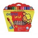 Giotto Be-Bè - Supermatitoni Astuccio 12 Colori + Temperamatite