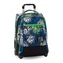 Zaino Trolley Seven Yub Urban Girl Blu