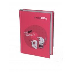 Seven Diventone Diario Pocket 2014/15 Fucsia