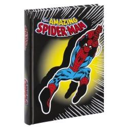 Diario Spiderman Scuola 12 mesi Nero