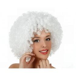 Parrucca Afro Bianca