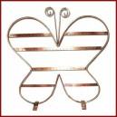 Espositore Porta Orecchini Farfalla in Rame