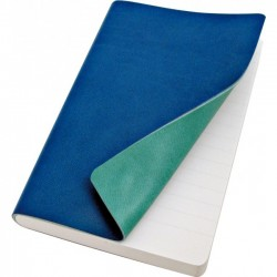 Taccuino Copertina Morbida Tascabile Blu/Turchese Reflexa
