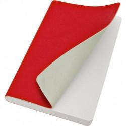 Taccuino Copertina Morbida Tascabile Rosso/Grigio Reflexa
