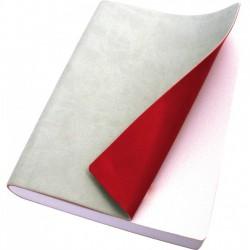 Taccuino Copertina Morbida Tascabile Grigio/Rosso Reflexa