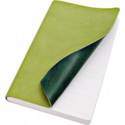 Taccuino Copertina Morbida Tascabile Verde Chiaro/Verde Scuro Reflexa