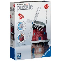 Puzzle 3D Mulino a Vento - Ravensburger
