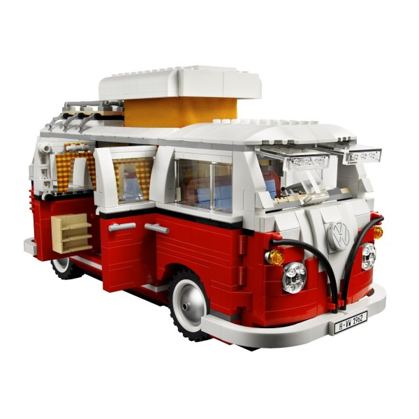 pulmino volkswagen t1 lego creator il punto esclamativo. Black Bedroom Furniture Sets. Home Design Ideas