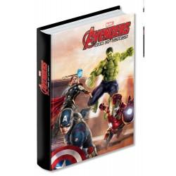 Diario Standard Nero 10M Epic Team Avengers - Marvel