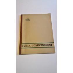 Vintage anni '70 - Registro Copia Commissoni - Roxen