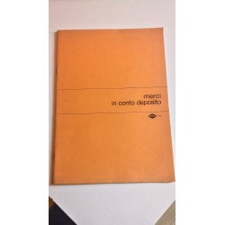 Vintage Anni '70-'80 Registro Merci in Conto Deposito - Prodotti Flex