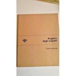 Vintage Anni '70-'80 Registro degli acquisti - Prodotti Flex
