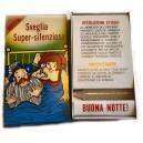 Sveglia Super-Silenziosa Scherzi di carnevale - Vintage anni '80-'90