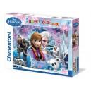 Puzzle 104 pz Frozen