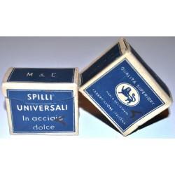 Vintage da collezione anni '70 Introvabili Spilli in acciaio dolce Leone 50g.