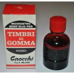 Inchiostro per timbri Gnocchi - Rosso