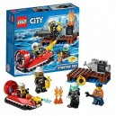 LEGO City 60106 - Starter Set Pompieri