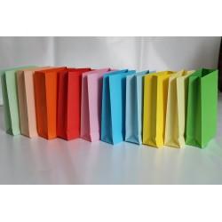 12 Buste Regalo in Carta 32 x 26 cm Colori Assortiti