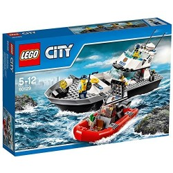 LEGO City 60129 - Motoscafo della Polizia