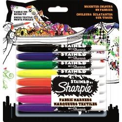 Sharpie Stained - 8 Pennarelli Indelebili Colori Assortiti