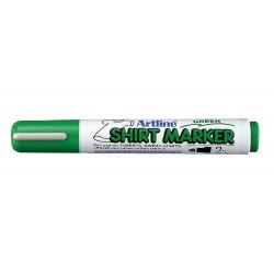 Shirt Marker Verde Artline - Pennarello per Stoffa