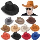 Cappello da cowboy colori assortiti