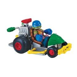 Tartarughe Ninja Half Shell Leonardo con macchina patrol buggy