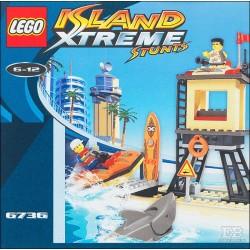 LEGO 6736 Islands Xtreme Stunts - Beach Lookout