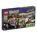 LEGO Ninja Turtles 79104 - L'Inseguimento Stradale dello Shellriser