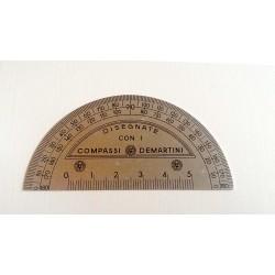 Compassi De Martini - in alluminio satinato - 0/180 - Anni '70-'80