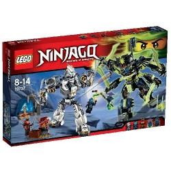 LEGO Ninjago 70737 - La Battaglia Dei Robo-Titani