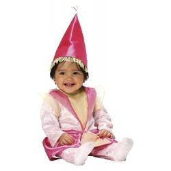Costume di Carnevale da Fatina Rosa - Età 0-1 Anni