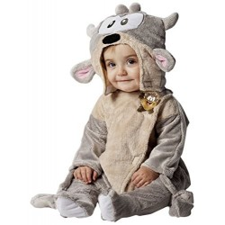 Costume di Carnevale Baby Looney Tunes Taz - Età 1-3 Anni