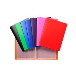 12 Portalistini 40 Fogli A4 Colori Assortiti (L)