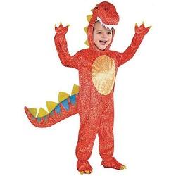 Costume da Carnevale da Dinosauro - Taglia 3-5 Anni