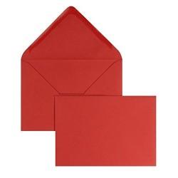 Cartoncini Rossi con Busta 100 Pezzi Formato 4 (11x8 cm)